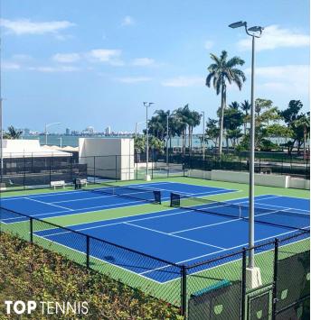 xây dựng sân tennis champion