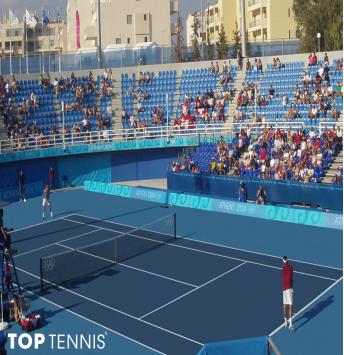 xây dựng sân tennis grand