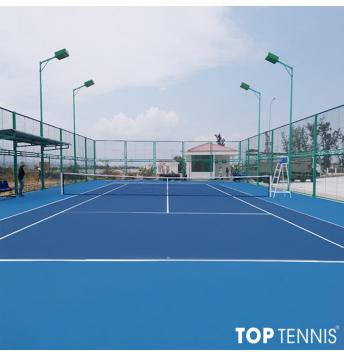 sơn lại sân tennis chuyên nghiệp