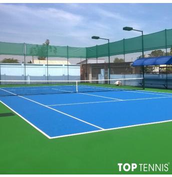 sơn lại sân tennis giá rẻ