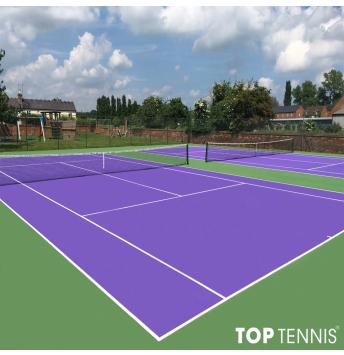sơn lại sân tennis giá tốt nhất